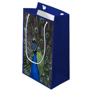 Painted Peacock Gift Bag