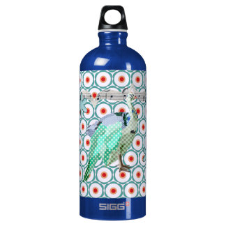 Painted Peacock Turqoise Liberty Bottle SIGG Traveller 1.0L Water Bottle