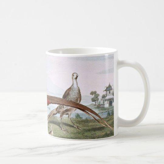 Painted Pheasants Coffee Mug