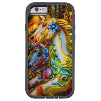painted pony amusement park iphone case