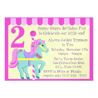 Painted Pony/ Birthday Card
