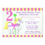 Painted Pony Birthday Party Invitations