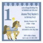 Painted Pony/ Birthday Personalised Invitation
