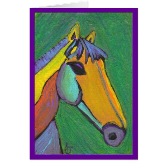 Painted Pony - notecard