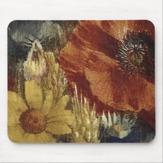 Painted Popies Mouse Pad