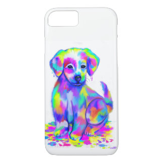 Painted Puppy Phone iPhone 8/7 Case