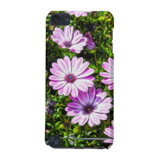Painted Purple Flowers iPod Touch 5G Cover