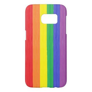 Painted Rainbow Flag