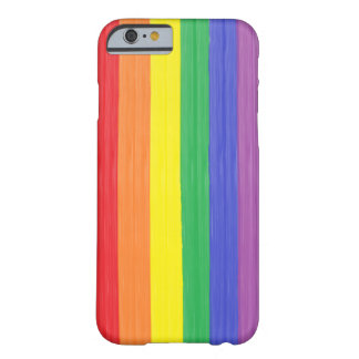Painted Rainbow Flag Barely There iPhone 6 Case