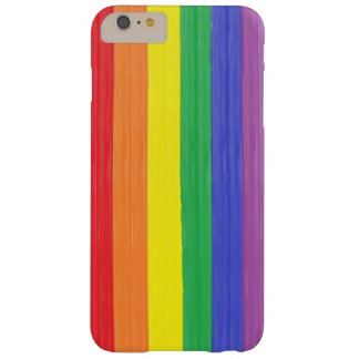 Painted Rainbow Flag Barely There iPhone 6 Plus Case