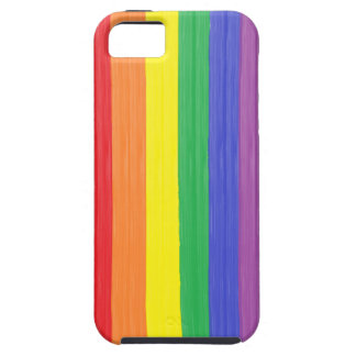 Painted Rainbow Flag Case For The iPhone 5