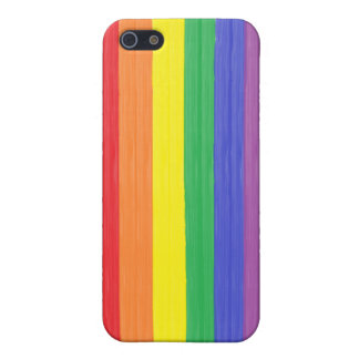 Painted Rainbow Flag iPhone 5/5S Cover