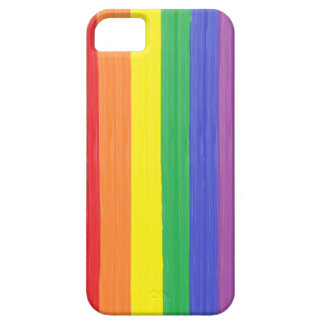 Painted Rainbow Flag iPhone 5 Covers