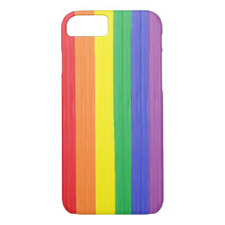 Painted Rainbow Flag iPhone 7 Case