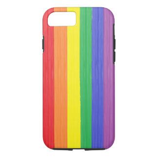 Painted Rainbow Flag iPhone 8/7 Case