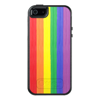 Painted Rainbow Flag OtterBox iPhone 5/5s/SE Case