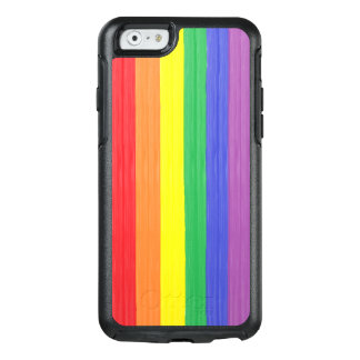 Painted Rainbow Flag OtterBox iPhone 6/6s Case