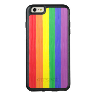 Painted Rainbow Flag OtterBox iPhone 6/6s Plus Case