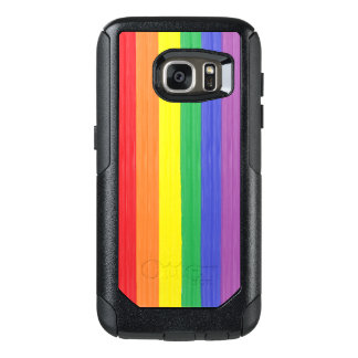 Painted Rainbow Flag OtterBox Samsung Galaxy S7 Case