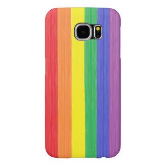 Painted Rainbow Flag Samsung Galaxy S6 Cases