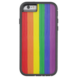 Painted Rainbow Flag Tough Xtreme iPhone 6 Case