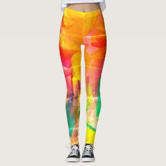 Painted Rainbow Leggings