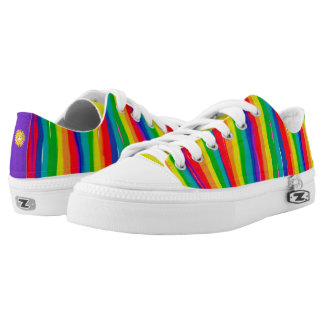 Painted Rainbows Low Tops