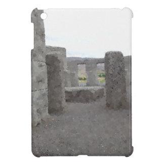 Painted Reflections of Stonehenge iPad Mini Covers