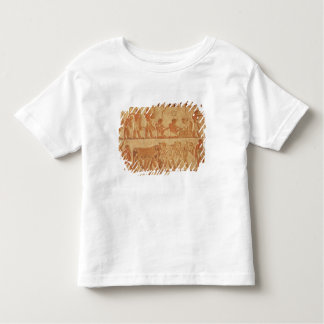 Painted relief depicting toddler T-Shirt