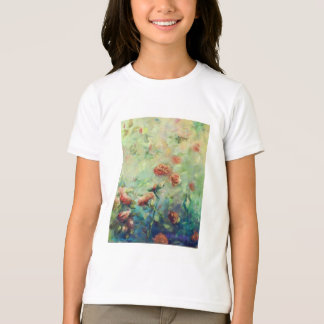 Painted roses t-shirt