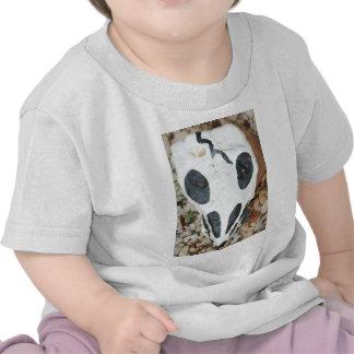 painted skull tee shirt