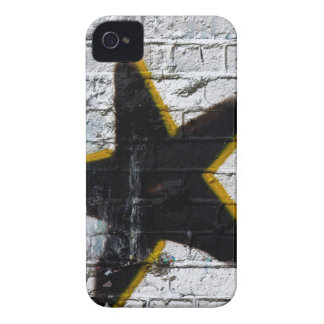 Painted Star on Brick Blackberry Bold Case