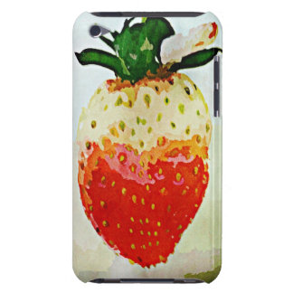 Painted Strawberry iPod Touch Covers