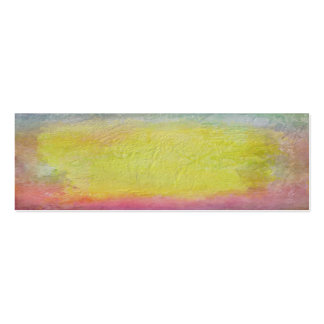 Painted sunrise texture business card template