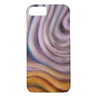 painted swirl abstract iPhone 8/7 case