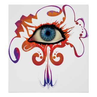 PainTed TeaRs Print