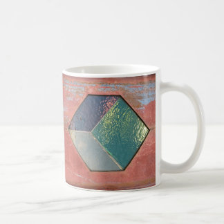 painted tiles coffee mugs