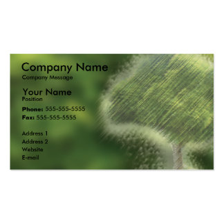 Painted Tree Pack Of Standard Business Cards