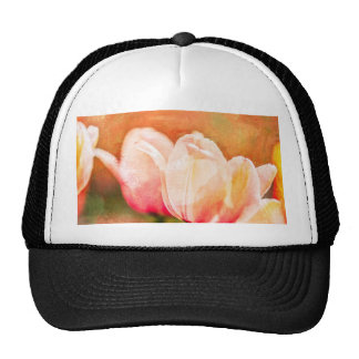 Painted Tulips Hat