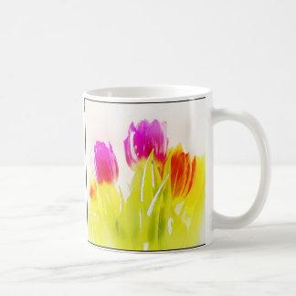 Painted Tulips Mugs