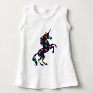 Painted UNICORN horse fairy tale  fashion shopping Dress