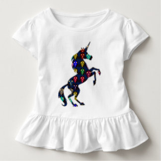 Painted UNICORN horse fairy tale  fashion shopping Toddler T-Shirt