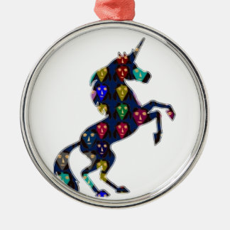 Painted UNICORN horse fairytale navinJOSHI NVN100 Christmas Ornament