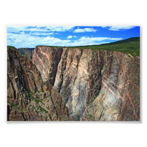 Painted Wall, Black Canyon of the Gunnison Art Photo