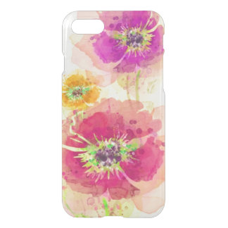 Painted watercolor poppies 2 iPhone 8/7 case