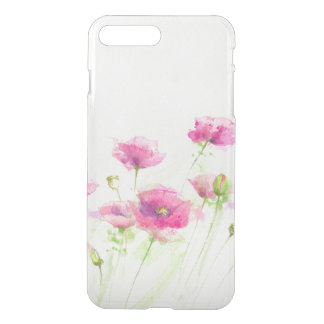 Painted watercolor poppies 3 iPhone 8 plus/7 plus case