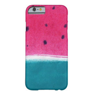 Painted Watermelon Barely There iPhone 6 Case