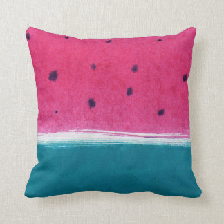 Painted Watermelon Cushion