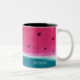 Painted Watermelon mug