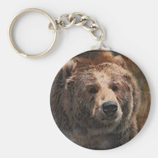 PaintedGrizzly Key Ring